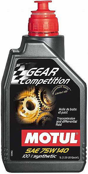 MOTUL GEAR COMPETITION 75W140 1L GL5