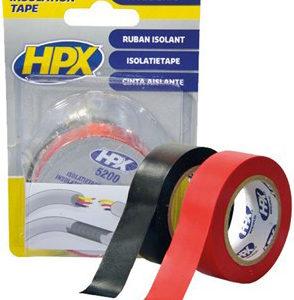 PVC- Elektriku Teip 19MM/10M 2 TK Must+ Punane isoleer HPX