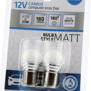 PIRN LED 12V CANBUS 4,5W P21W BA15S 2TK BOSMA