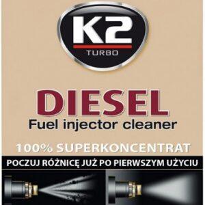 K2 DIESEL SISSEPRITSE Puhastusaine Diiselmootoritele 50ML
