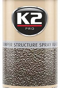 K2 BLACK BUMPER STRUCTURE SPRAY BLACK 400ML/AE