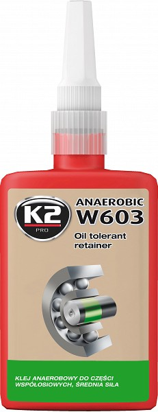 K2 W605 OIL TOLERANT RETAINER LAAGRILIIM 50ML