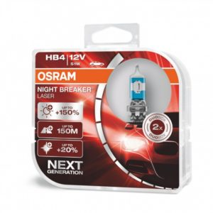 PIRN HB4 51W 12V 9006 NIGHT BREAKER LASER +150% 2TK OSRAM