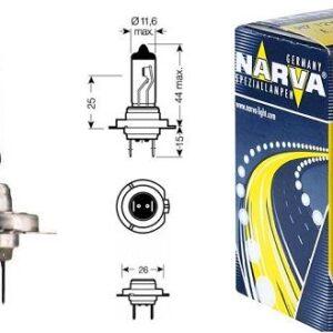 Pirn 12V H7 55W Narva