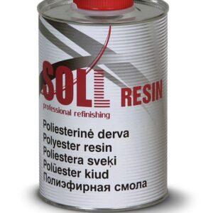 Polüesterkiud/vaik plastikule SOLL 1KG + kõvendi