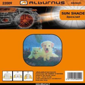 Päikesekaitse aknale 44×36 2tk