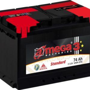 AKU A-MEGA 74AH 720A 12V standard 278x175x190