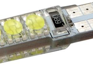 Pirn LED T10 10SMD CANBUS silikoonis