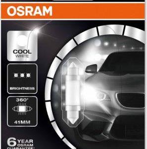Pirn LED 1W 12V 41mm Blister 1tk