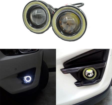 LED udutuled/päeva rõngastuled ANGEL EYES 75mm 2tk