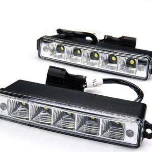LED lisatulede komplekt 170x30x45mm 2 tk, E4 DRL,