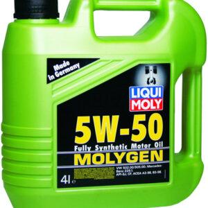 MOLYGEN 5W50 4L mootoriõli