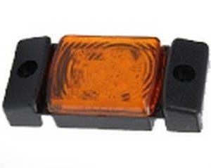 LD141 KÜLJETULI LED 73X33MM KOLLANE 12/24V