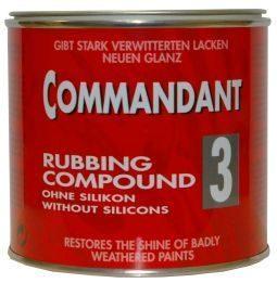 Poleerimispasta, jäme 500gr  Commandant 3 käsitsi kasutamiseks