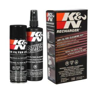 K&N õhufiltri hooldus KIT aerosoolid õli+puhastus 204ml+355ml