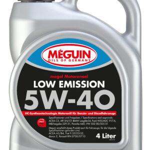Õli 5W40 4L C3 MEGUIN VW505 01 BMW LL-04 WSS-M2C 917-A RN0710