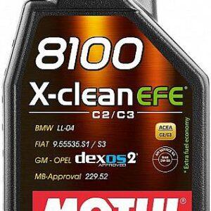 MOTUL 8100 X-CLEAN EFE 5W30 1L DEXOS 2/LL-04