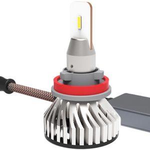 LED 36W 9-32V H8/H9/H11 5700K 6000LM 2TK