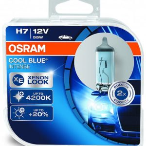 PIRN H7 55W 12V COOL BLUE INTENSE 2TK