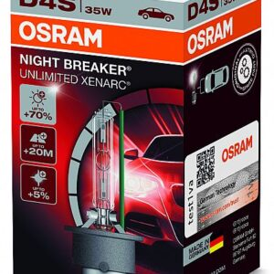 PIRN XENON D4S 35W +70%  NIGHT BREAKER UNLIMITED OSRAM