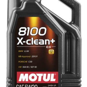 MOTUL 8100 X-CLEAN+ 5W30 5L 507 LL-04