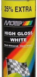 Valge läikiv värv 500ml  MOTIP