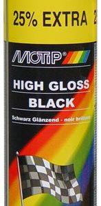 Must läikiv värv 500ml   MOTIP