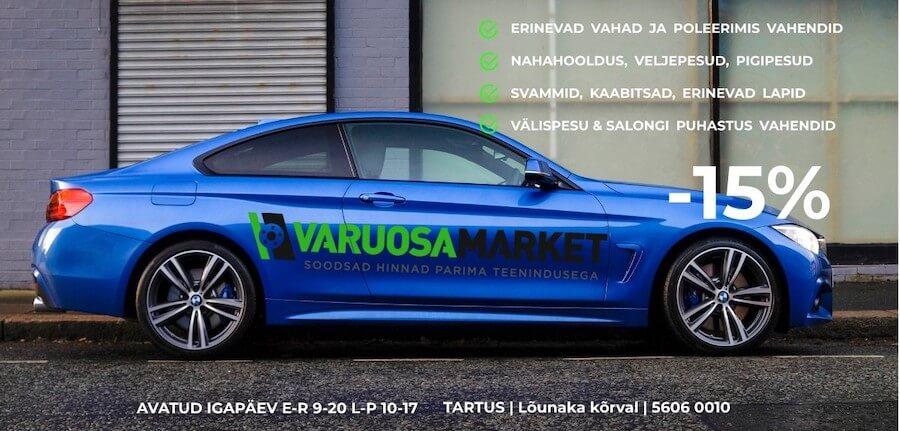 Lai valik auto puhastusvahendeid allahindlusega -15% (11.07 – 28.07)