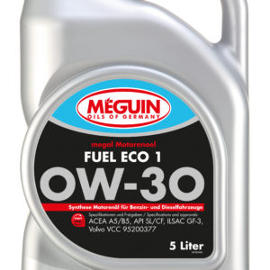 ÕLI 0W30 5L VOLVO Fuel Eco 1 kvaliteetne Saksa õli