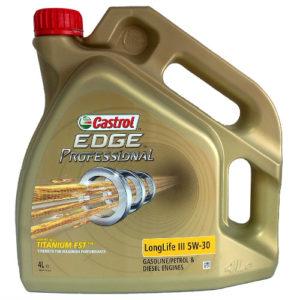 Õli 5W30 4L Castrol Edge Titanium Professional