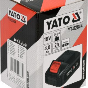 Lisaaku / varuaku 4Ah 18V Li-Ion YATO seadmetele