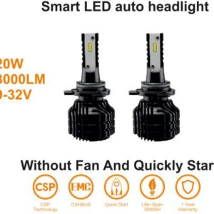 LED H7 20W 9-32V 6000K CANbus