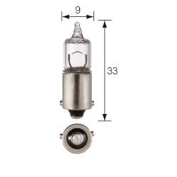 Pirn H6W BAX9S 12V Halogeen  N10445502