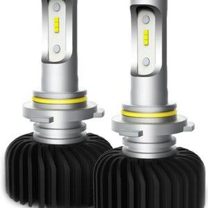 12V/24V HB4 LED PIRNIDE KOMPLEKT 30W P22D 9006 6000K 2TK