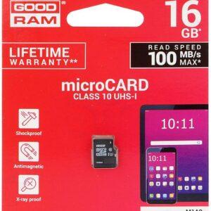 Mälukaart Micro SD 16GB