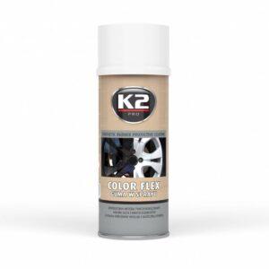 Sprayplast kilevärv valge 400ml K2