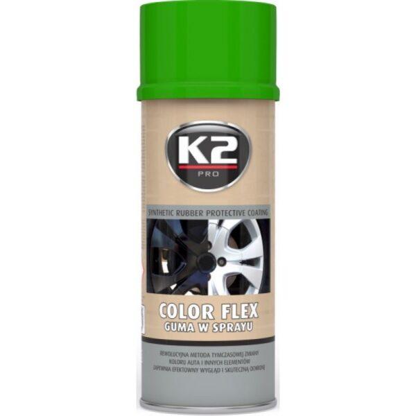 Sprayplast kilevärv Roheline 400ml K2