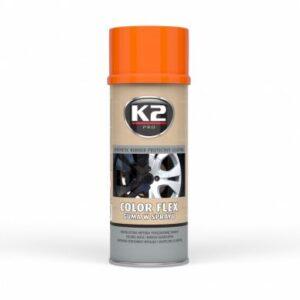 Sprayplast kilevärv oranz 400ml K2