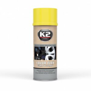 Sprayplast kilevärv Kollane 400ml K2