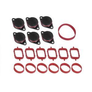 Pöördklapi pimedate komplekt + tihendid kollektorile BMW 33/32mm