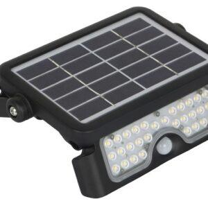PROZEKTOR+ANDUR LED SOLAR 5W 500LM 217X149MM NEUTRAL WHITE, BLACK IP65