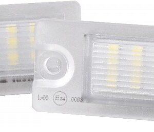 NUMBRITULI LED VOLVO s60,s80,v70,xc70,xc90  9187153 CANBUS 2TK