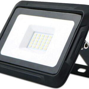 PROZEKTOR LED 20W 1600LM 97X133MM WARM WHITE, BLACK IP65