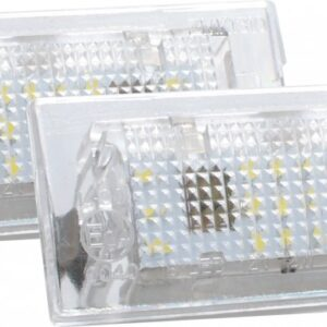 NUMBRITULI LED BMW E53 99-06, E83 03-10 CANBUS 2TK M-TECH