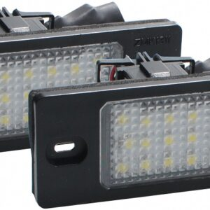 NUMBRITULI LED touareg/golf/passat/tiguan CANBUS 2TK