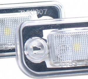 NUMBRITULI LED MERCEDES BENZ W211, W201, W219, R171 CANBUS