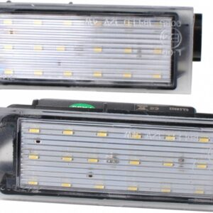 NUMBRITULI LED RENAULT OEM 265108474R, 8200480127 CANBUS 2TK