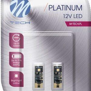 12V T10 LED PIRN 2W W5W CANBUS PLATINUM BLISTER 2TK (OSRAM LED) M-TEC