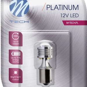 LED PIRN 12V BA15S 4,5W  CANBUS PLATINUM 1TK (OSRAM LED) M-TECH