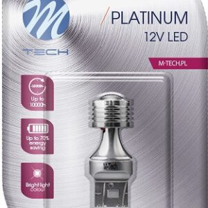 12V T20 LED PIRN 3,5W W21/5W PLATINUM BLISTER 1TK (OSRAM LED) M-TECH